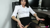 Rose_Upskirt_At_Work 07