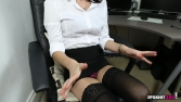 Rose_Upskirt_At_Work 15
