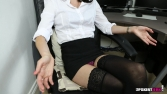 Rose_Upskirt_At_Work 18