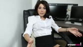 Rose_Upskirt_At_Work 24