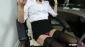 Rose_Upskirt_At_Work 30