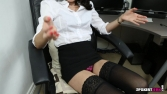 Rose_Upskirt_At_Work 31