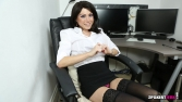 Rose_Upskirt_At_Work 36