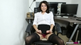 Rose_Upskirt_At_Work 45