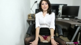 Rose_Upskirt_At_Work 46