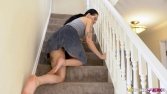 keeley-saucy-on-the-stairs-100